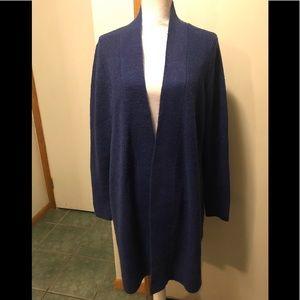 Lane Bryant long open cardigan sweater